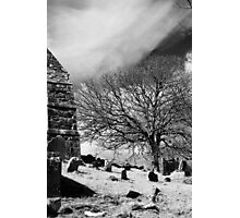 A Fine Day - Irish Graveyard Photographic Print