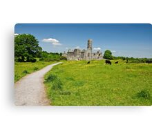 Quin Abbey, County Clare, Ireland Canvas Print