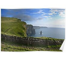 Cliffs Of Moher, County Clare, Ireland Poster
