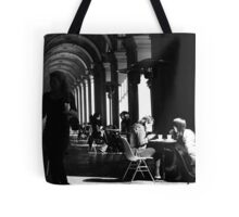 Clearing tables ... Tote Bag