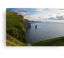 Cliffs Of Moher, Sunset, County Clare, Ireland Canvas Print