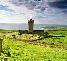 Doonagore Irish Castle, Doolin, County Clare, Ireland by upthebanner