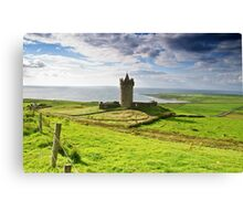Doonagore Irish Castle, Doolin, County Clare, Ireland Canvas Print