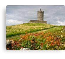Doonagore Castle County Clare Ireland Canvas Print