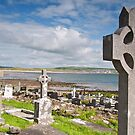 Burial Grave Site In Lahinch Liscannor County Clare Ireland by Noel Moore Up The Banner Photography