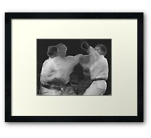 The Art of Karate Framed Print