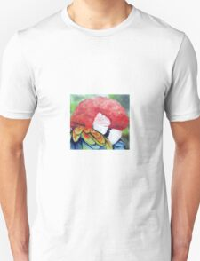 Bright Colourful /Colorful Macaw Parrot Unisex T-Shirt