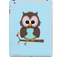 Mrs Owl  iPad Case/Skin