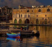 Cospiqua Old Docks Malta by Edwin  Catania
