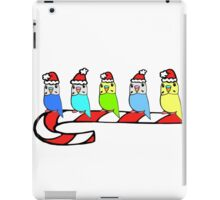 Budgies- Christmas iPad Case/Skin