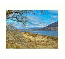 West Of Ireland Scenic Nature Rural Landscape Art Print