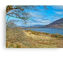 West Of Ireland Scenic Nature Rural Landscape Canvas Print