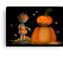 Take me to your leader .. November Canvas Print
