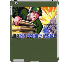 North Korean Propaganda - Big Shells iPad Case/Skin