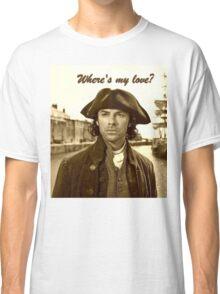 Ross Poldark in Cornwall Classic T-Shirt