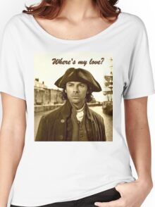 Ross Poldark in Cornwall Women's Relaxed Fit T-Shirt