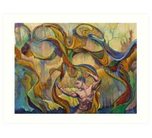 The Order Of Chaos Art Print