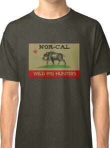 Nor Cal Wild Pig Hunters (Color Subdued) Classic T-Shirt