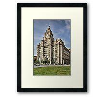 Royal LiverBuilding, Liverpool Framed Print