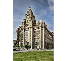 Royal LiverBuilding, Liverpool Photographic Print