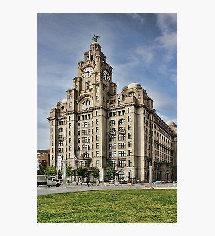 Royal LiverBuilding, Liverpool Photographic Print