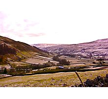 Looking Towards Muker - Yorkshire Dales Photographic Print