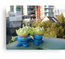 Toy Story Aliens - Vancouver Canvas Print