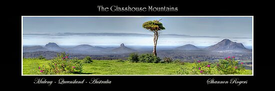 The Glasshouse Mountains by Shannon Rogers