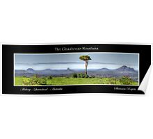 The Glasshouse Mountains Poster