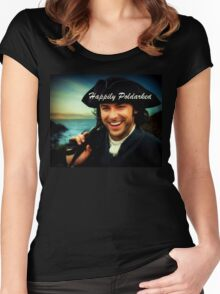 Ross Poldark in Cornwall Women's Fitted Scoop T-Shirt