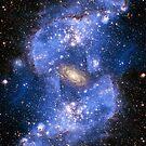 space nebula by BlaizerB