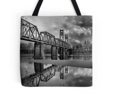 Old Rail Road Bridge Tote Bag