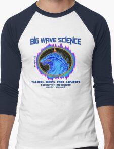 North Shore Big Wave Science Men's Baseball ¾ T-Shirt