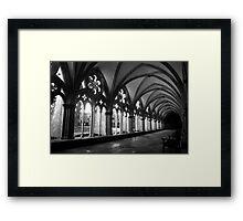 Salisbury Arcade Framed Print