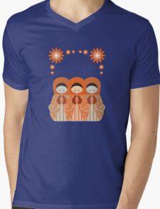 Russian Dolls  Mens V-Neck T-Shirt