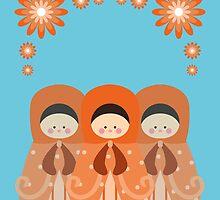 Russian Dolls  by julianamotzko