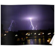 Lightning Never Strikes Twice Poster