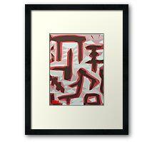 Symbols Framed Print