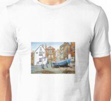Robin Hood's Bay, North Yorkshire Street View Unisex T-Shirt