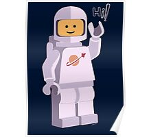 Space Astronaut Poster