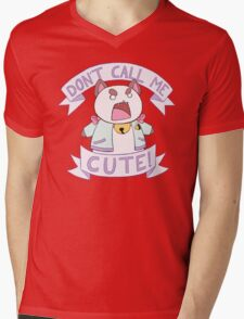 Puppycat - Don't Call Me Cute!  Mens V-Neck T-Shirt