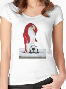 Footballmania - Soccermania Women's Fitted Scoop T-Shirt