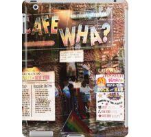 Cafe Wha, NYC, NY iPad Case/Skin