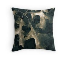 Oak Leaves Kitty Todd Nature Preserve Throw Pillow