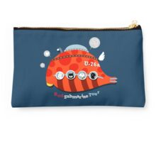 Red Submarine Tour Studio Pouch