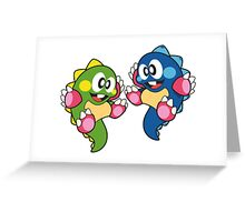 Bubble Bobble Greeting Card