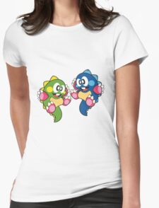 Bubble Bobble Womens Fitted T-Shirt