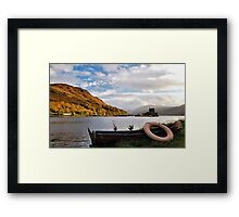 Picturesque Boating Framed Print