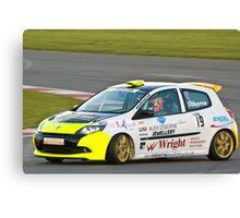 Alex Osbourne Renault Clio Canvas Print