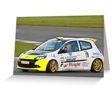 Alex Osbourne Renault Clio Greeting Card